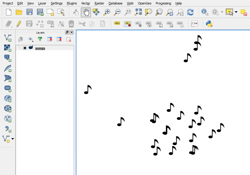 Mapping songs about Madrid — OpenGeo Suite 4 8 User Manual